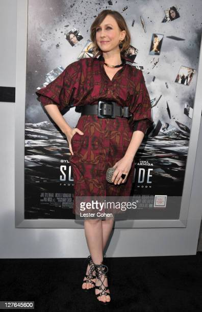 Actress Vera Farmiga arrives at the 'Source Code' Los Angeles Premiere at ArcLight Cinemas on March 28 2011 in Hollywood California