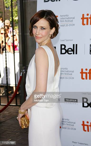 Actress Vera Farmiga arrives to the Up In The Air premiere during 2009 Toronto International Film Festival held at Ryerson Theatre on September 12...