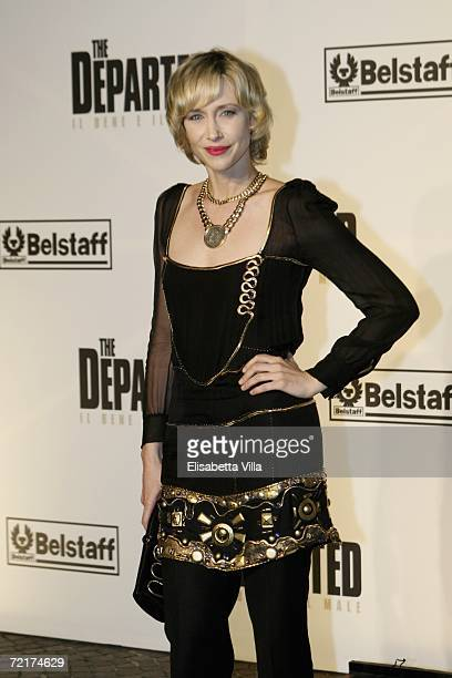 Actress Vera Farmiga attends a dinner party to promote the movie The Departed on the third day of Rome Film Festival on October 15 2006 in Rome Italy