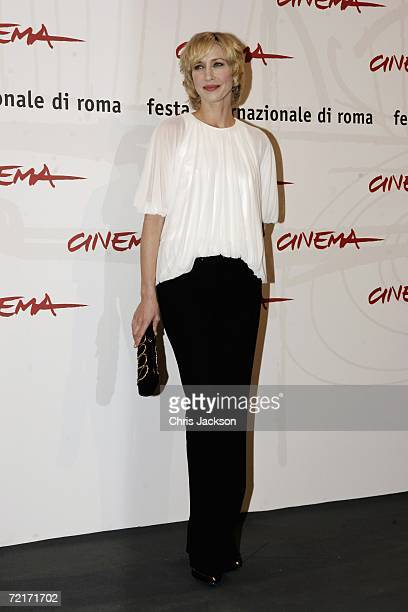 Actress Vera Farmiga attends a photocall to promote the movie The Departed on the third day of Rome Film Festival on October 15 2006 in Rome Italy