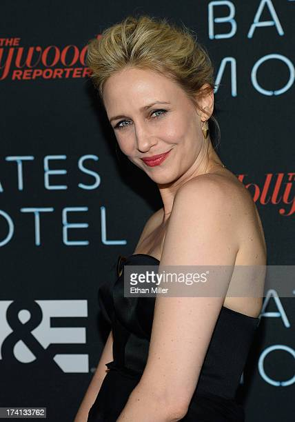 "Actress Vera Farmiga attends A&E's ""Bates Motel"" party during Comic-Con International 2013 at Gang Kitchen on July 20, 2013 in San Diego, California."