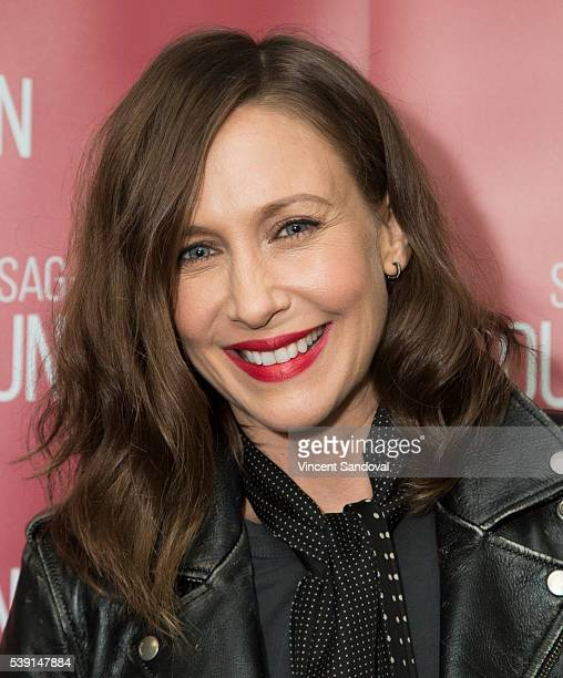 Actress Vera Farmiga attends SAGAFTRA Foundation Conversations for 'Bates Motel' at SAGAFTRA Foundation on June 9 2016 in Los Angeles California
