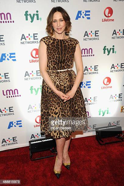 Actress Vera Farmiga attends the 2014 AE Networks Upfront on May 8 2014 in New York City