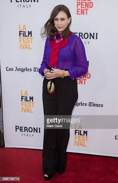 Actress Vera Farmiga attends the 2016 Los Angeles Film Festival 'The Conjuring 2' Premiere at TCL Chinese Theatre IMAX on June 7 2016 in Hollywood...