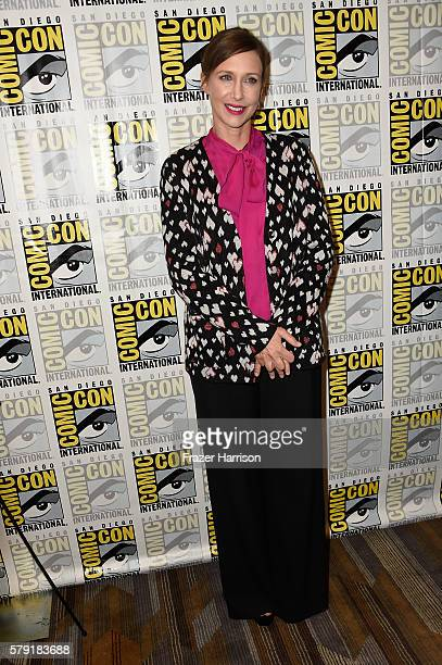 Actress Vera Farmiga attends the 'Bates Motel' press line at Hilton Bayfront on July 22 2016 in San Diego California