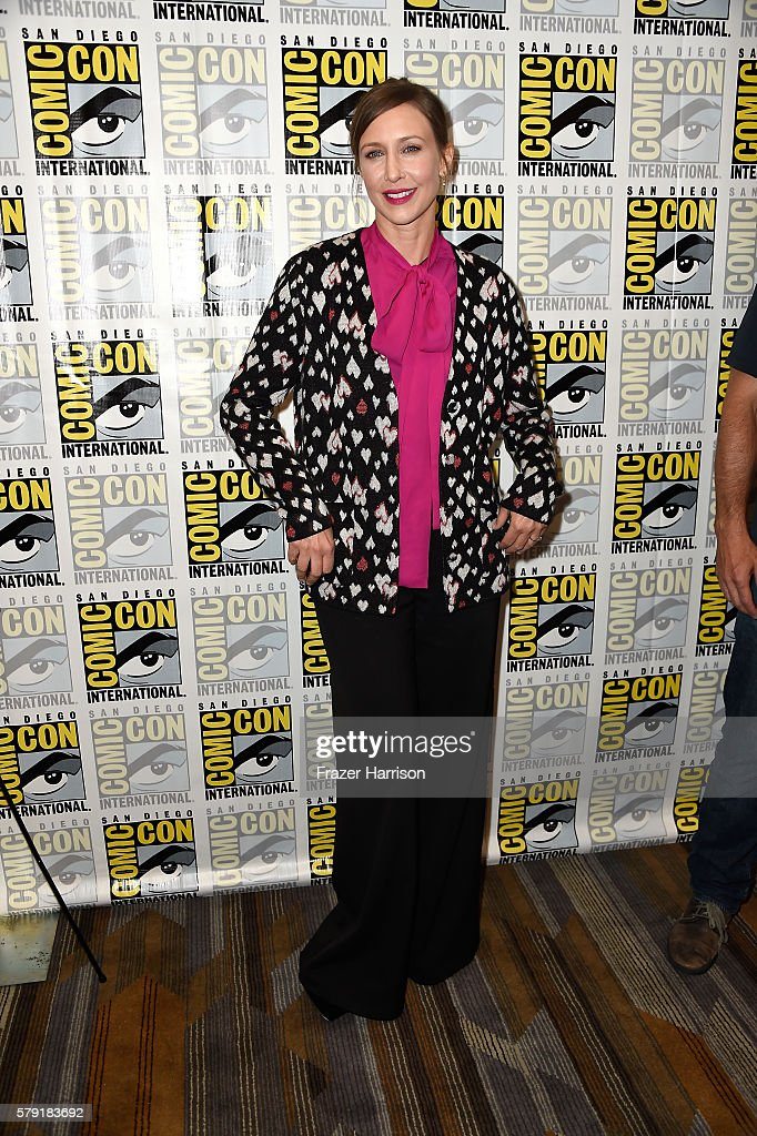 Actress Vera Farmiga attends the 'Bates Motel' press line at Hilton Bayfront on July 22, 2016 in San Diego, California.