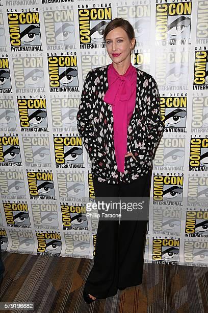 Actress Vera Farmiga attends the 'Bates Motel' press line during ComicCon International 2016 on July 22 2016 in San Diego California