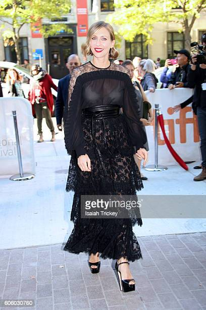 Actress Vera Farmiga attends the 'Burn Your Maps' premiere during the 2016 Toronto International Film Festival at Ryerson Theatre on September 15...