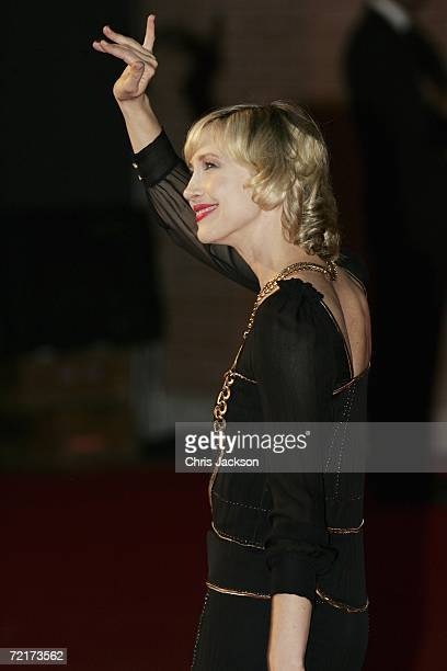 Actress Vera Farmiga attends the premiere of the movie The Departed on the third day of Rome Film Festival on October 15 2006 in Rome Italy