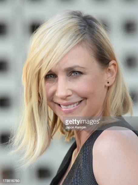 "Actress Vera Farmiga attends the premiere of Warner Bros. ""The Conjuring"" at ArcLight Cinemas Cinerama Dome on July 15, 2013 in Hollywood, California."