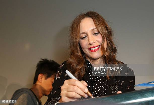 Actress Vera Farmiga attends the screening and QA for 'The Conjuring 2' at Aero Theatre on June 8 2016 in Santa Monica California
