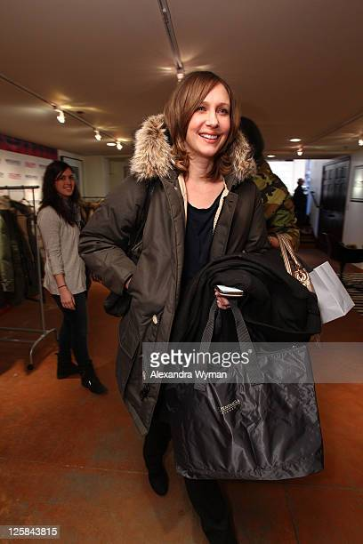 Actress Vera Farmiga attends the Variety Studio At Sundance on January 24 2011 in Park City Utah