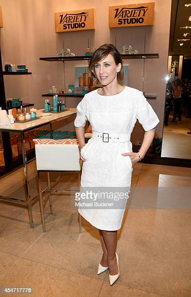 Actress Vera Farmiga attends the Variety Studio presented by Moroccanoil at Holt Renfrew during the 2014 Toronto International Film Festival on...