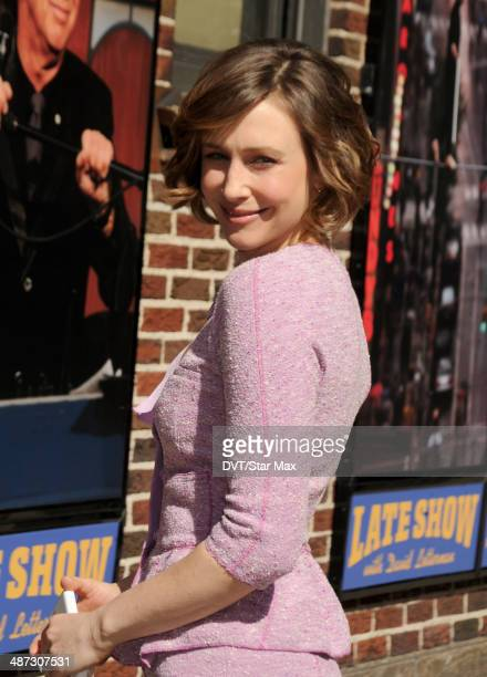 Actress Vera Farmiga is seen on April 28 2014 in New York City