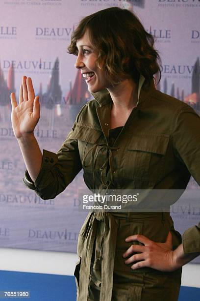 "Actress Vera Farmiga of the U.S. Attends a photocall for the film ""Never Forever"" during the 33rd Deauville American Film Festival September 6, 2007..."