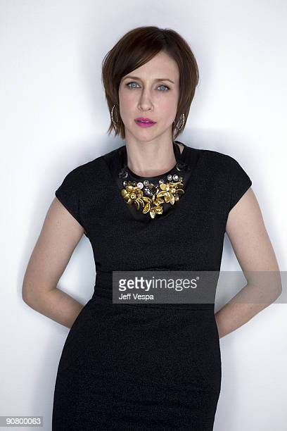 Actress Vera Farmiga poses at the Toronto Film Festival 2009