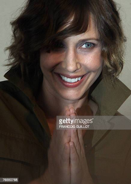 US actress Vera Farmiga poses during a photocall for her film Never forever during the 33rd Deauville's US Film Festival 06 September 2007 Eleven...