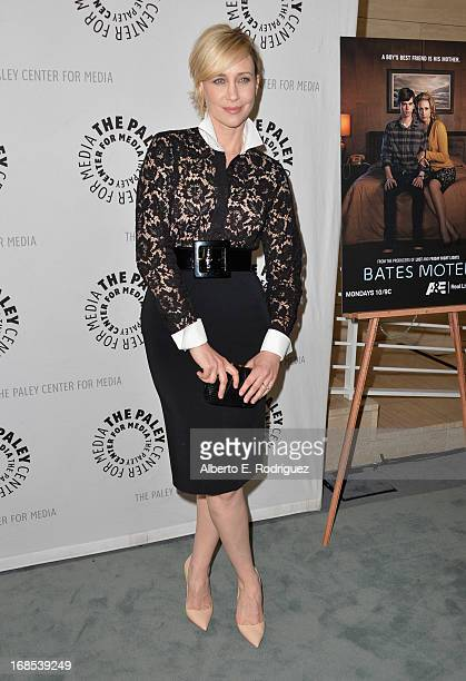 Actress Vera Farminga arrivies to The Paley Center for Media Presents Bates Motel Reimagining A Cinema Icon at The Paley Center for Media on May 10...