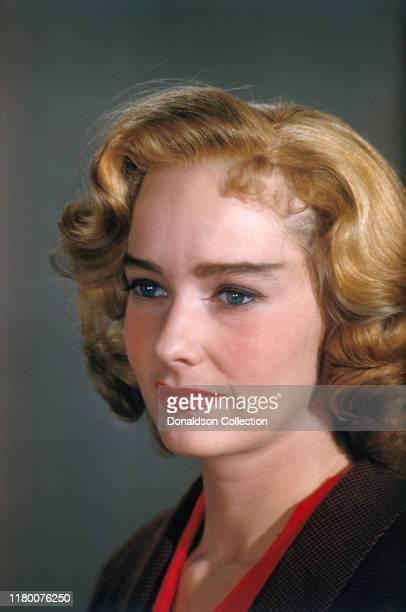 Actress Vera Miles portrait session circa 1955.