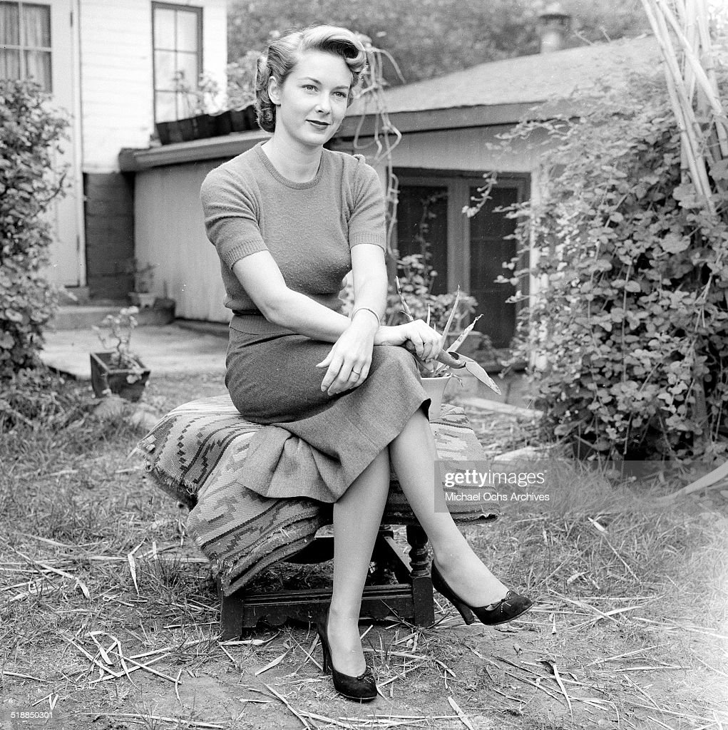 Actress Vera Miles poses at home in Los Angeles,CA. News Photo - Getty Images