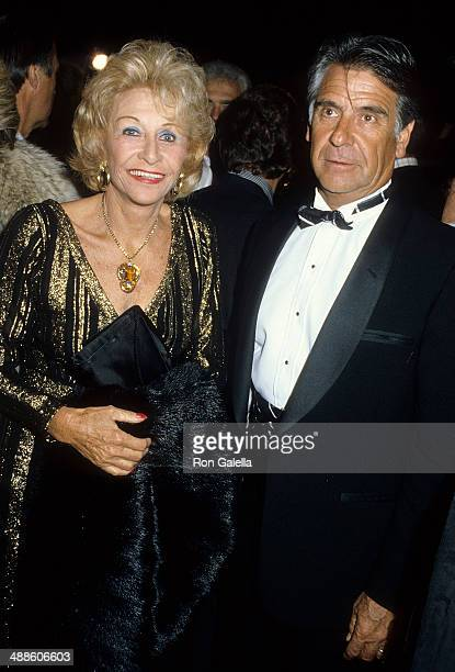 Actress Vera Ralston and husband Charles de Alva attend the First Annual Santa Barbara Film Festival Opening Night Just Between Friends Screening on...