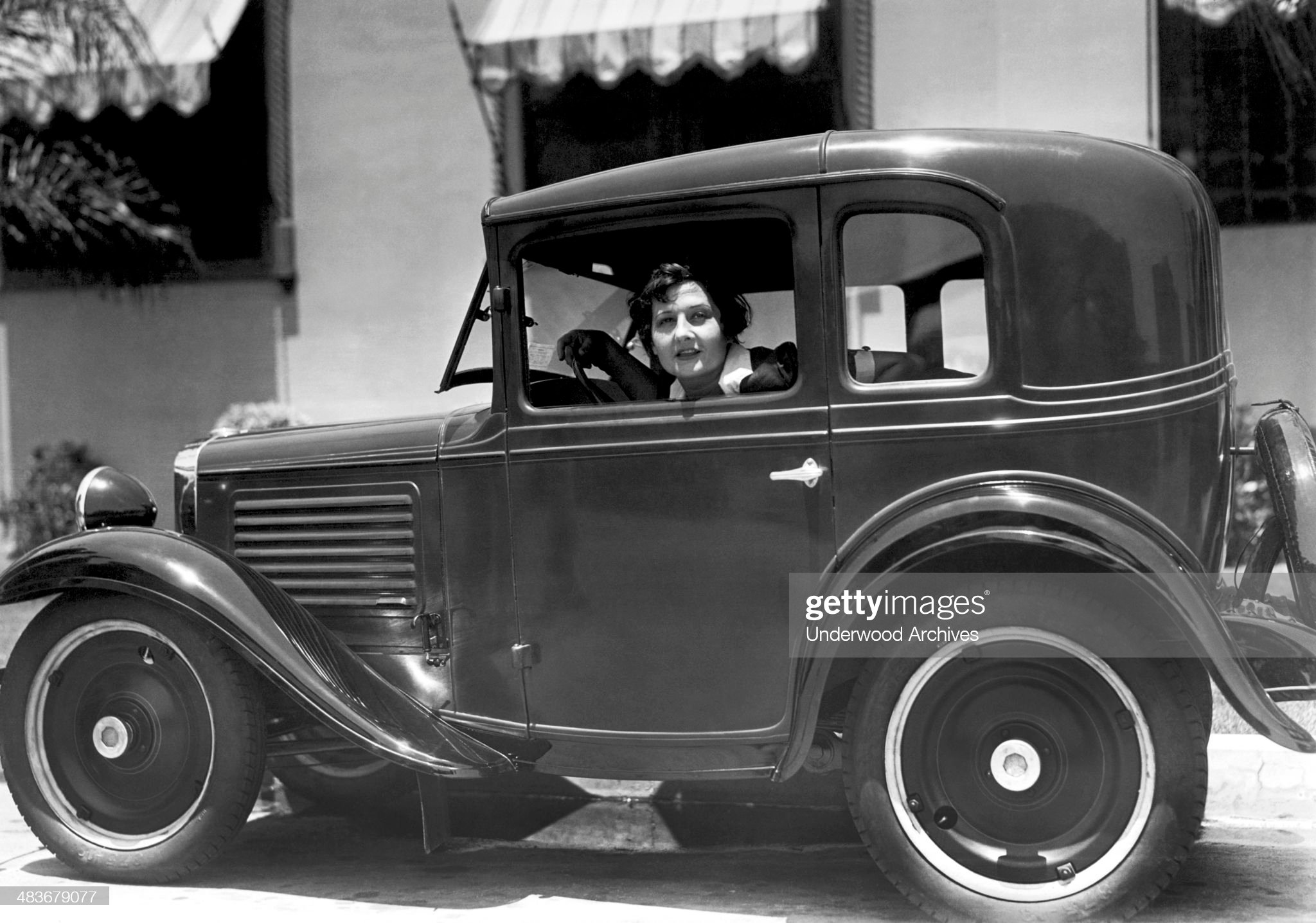 American Austin Coupe : News Photo