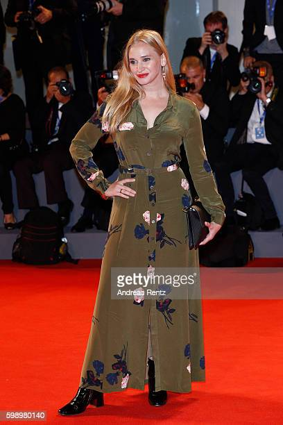 Actress Vera Vitali attends the premiere of 'Brimstone' during the 73rd Venice Film Festival at Sala Grande on September 3 2016 in Venice Italy