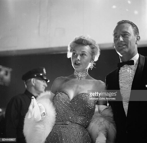 Actress VeraEllen and husband Victor Rothschild attend the Academy Awards in Los AngelesCA