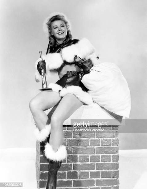 Actress VeraEllen in a scene from the movie White Christmas