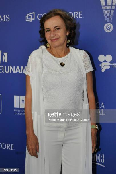 Actress Verónica Langer poses during the 59th Ariel Awards Nominees Event at Fiesta Americana Hotel on June 21 2017 in Mexico City Mexico