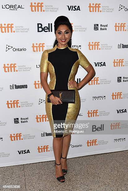 Actress Veronica Chail attends the Mary Kom premiere during the 2014 Toronto International Film Festival at The Elgin on September 4 2014 in Toronto...
