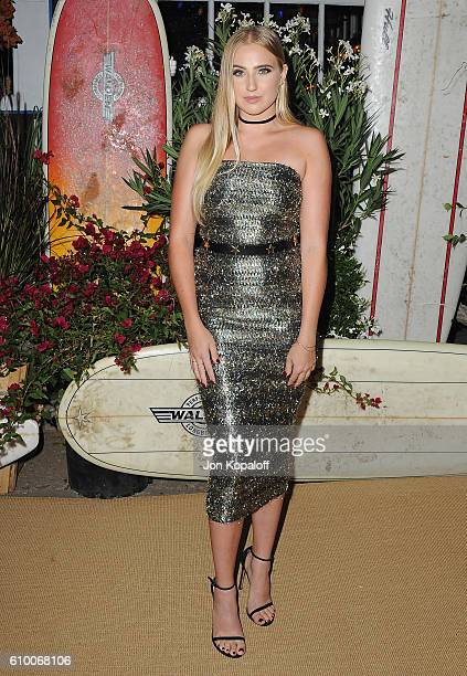 Actress Veronica Dunne arrives at Teen Vogue Celebrates 14th Annual Young Hollywood Issue at Reel Inn on September 23 2016 in Malibu California