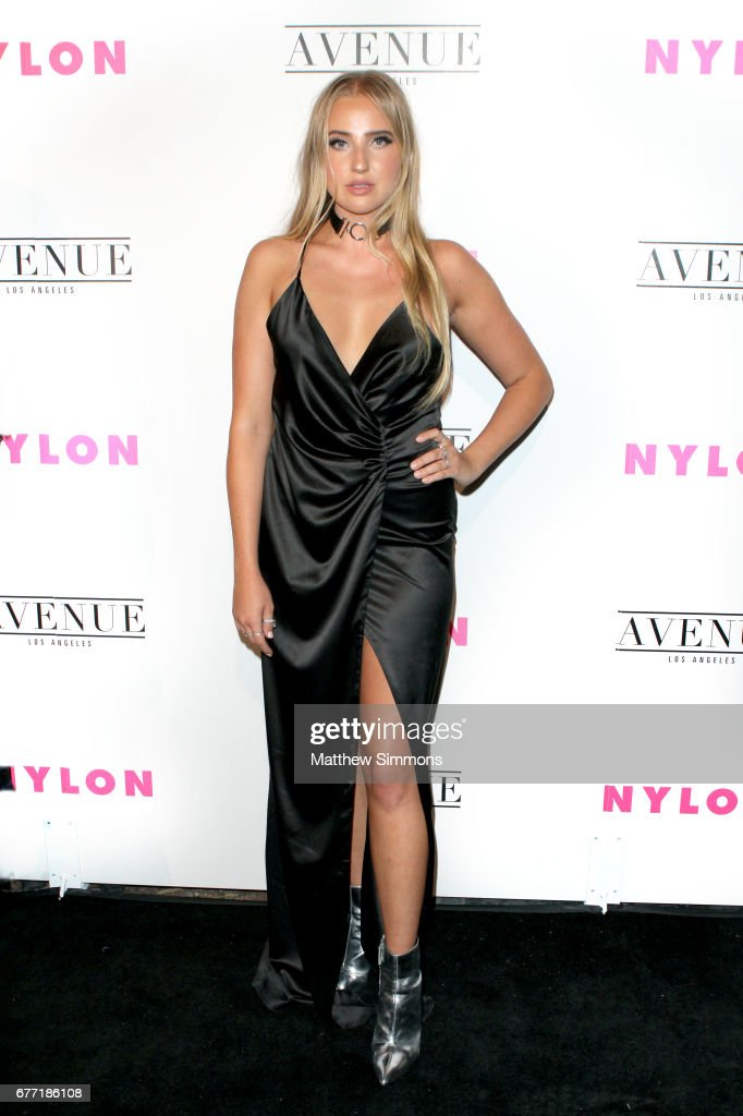 Actress Veronica Dunne attends NYLON's Annual Young Hollywood May Issue Event at Avenue on May 2, 2017 in Los Angeles, California.