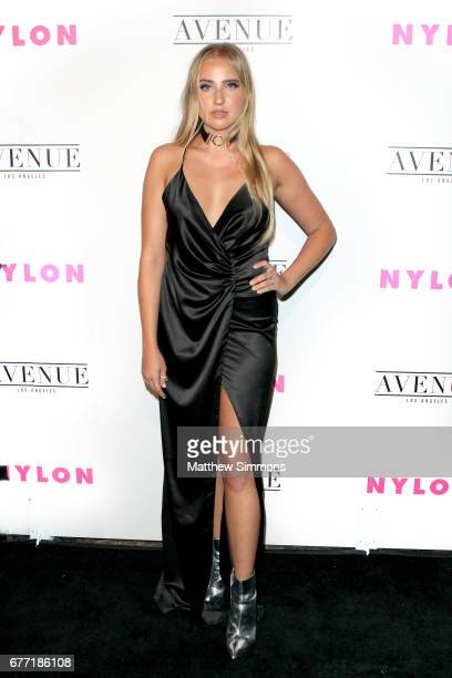 Actress Veronica Dunne attends NYLON's Annual Young Hollywood May Issue Event at Avenue on May 2 2017 in Los Angeles California