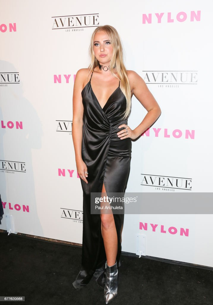 NYLON's Annual Young Hollywood May Issue Event With Cover Star Rowan Blanchard - Arrivals : News Photo