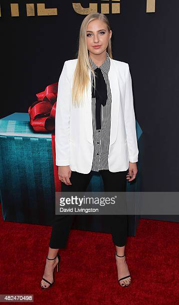 Actress Veronica Dunne attends STX Entertainment's 'The Gift' Los Angeles premiere at Regal Cinemas LA Live on July 30 2015 in Los Angeles California