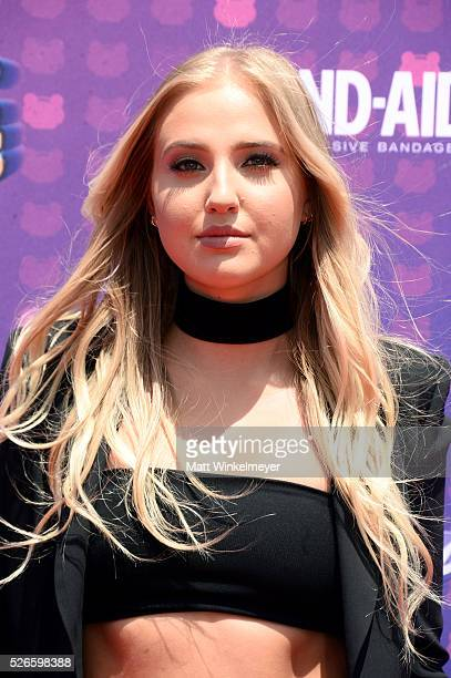 Actress Veronica Dunne attends the 2016 Radio Disney Music Awards at Microsoft Theater on April 30 2016 in Los Angeles California