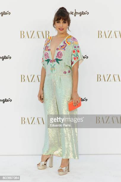 Actress Veronica Echegui attends the 'Harper's Bazaar summer party' photocall at Casa de Velazquez on June 28 2017 in Madrid Spain