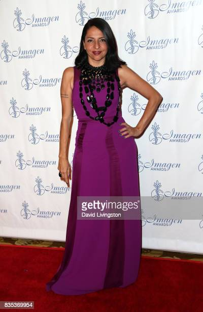 Actress Veronica Falcon attends the 32nd Annual Imagen Awards at the Beverly Wilshire Four Seasons Hotel on August 18 2017 in Beverly Hills California