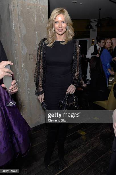 Actress Veronica Ferres attends Studio Babelsberg Soho House Berlinale Party with GREY GOOSE at the 'QUEEN OF THE DESERT' Studio Babelsberg Berlinale...