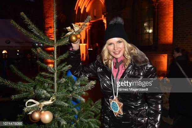 Actress Veronica Ferres attends the 23rd BMW Advent charity concert on December 20, 2018 in Munich, Germany.