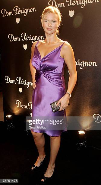 Actress Veronica Ferres attends the Dom Perignon Salon party during the 57th Berlin International Film Festival on February 11 2007 in Berlin Germany