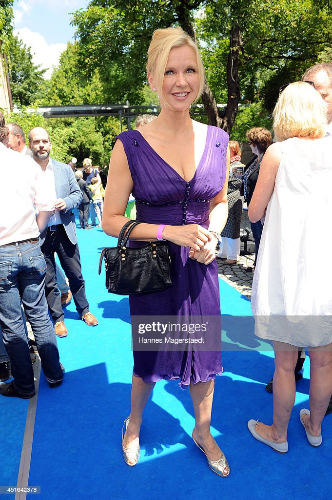 Actress Veronica Ferres attends the FFF Reception at Praterinsel on July 3, 2014 in Munich, Germany.