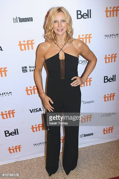 Actress Veronica Ferres attends the 'Salt and Fire' premeire during the 2016 Toronto International Film Festival at The Elgin on September 15 2016 in...