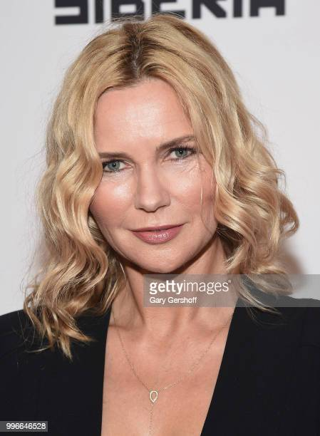 Actress Veronica Ferres attends the 'Siberia' New York premiere at The Metrograph on July 11 2018 in New York City
