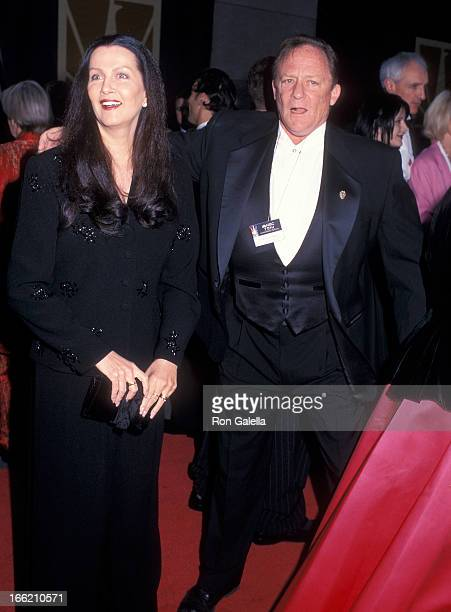 Actress Veronica Hamel and actor Charles Haid attend NBC's 75th Anniversary Special on May 5 2002 at Rockefeller Center in New York City