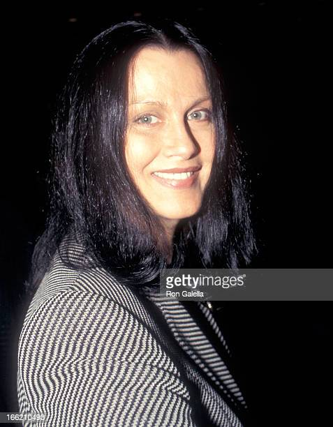 Actress Veronica Hamel attends a performance of the Broadway play 'Hughie' on October 4 1996 at the Circle in the Square Theatre in New York City