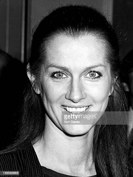 Actress Veronica Hamel attends Hollywood Women's Political Committee Fundraiser Honoring Walter Mondale and Geraldine Ferraro on October 16 1984 at...