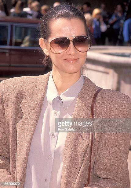 Actress Veronica Hamel attends the 16th Annual Fundraiser Brunch for the Rape Treatment Center of Santa Monica Hospital on September 30 1990 at Susie...