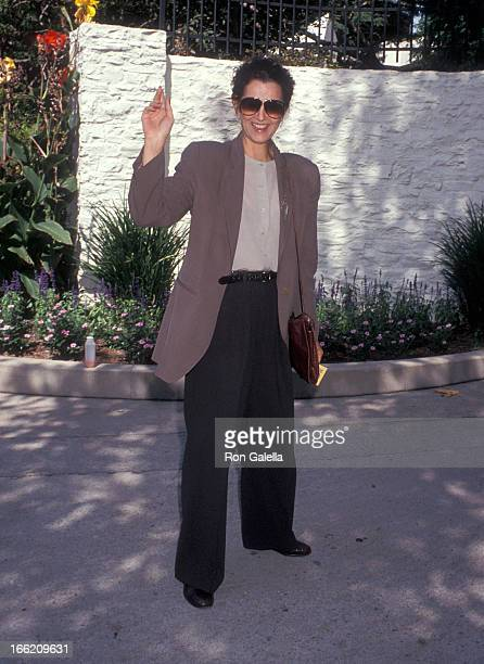 Actress Veronica Hamel attends the 17th Annual Fundraiser Brunch for the Rape Treatment Center of Santa Monica Hospital on September 22 1991 at...